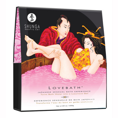 "Love bath "" Fruit du Dragon "" Shunga"