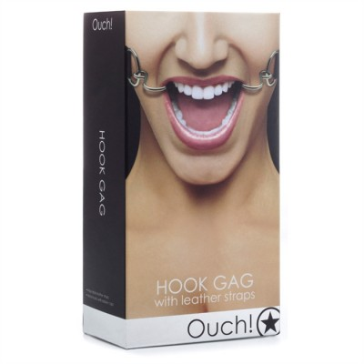 """HOOK GAG BLACK"" OUCH"